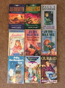 Some of my old books from childhood.